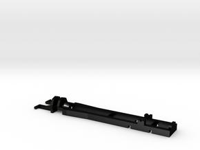 02-Herpa RC MAN 2 axle 55 mm in Matte Black Steel