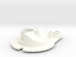 Head light reflector right Startech D90 Team Raffe in White Processed Versatile Plastic