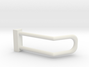 2002-2008 Dodge Ram Headlight Guard for Brushguard in White Natural Versatile Plastic: 1:25
