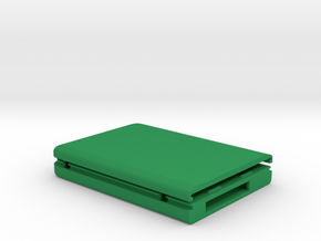 "USM compatible storage enclosure for 2.5"" hard dri in Green Processed Versatile Plastic"