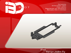 Chasis para Ferrari 250 LM de Fly in White Strong & Flexible