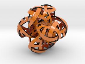 Hexaplex in Glossy Full Color Sandstone