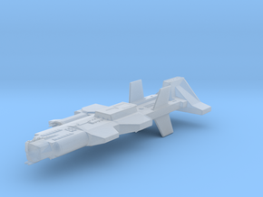 Ancient Warship in Smooth Fine Detail Plastic