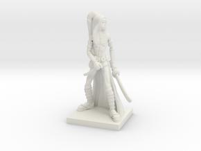 Fantasy Figures 10 - Rogue in White Natural Versatile Plastic