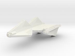 3788 Scale Tholian Heavy Dreadnought (DH) SRZ in White Natural Versatile Plastic