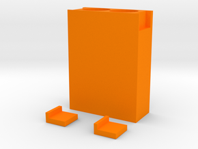 EVERSORT 2x50ml SORT ENCLOSURE 11-17 in Orange Processed Versatile Plastic