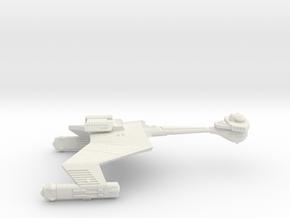 3125 Scale Klingon D6K Refitted Heavy Cruiser WEM in White Natural Versatile Plastic