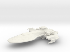 BATTLE SHIP in White Natural Versatile Plastic