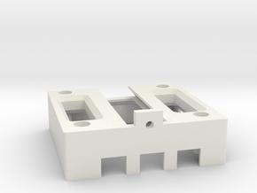 Base gimbal v2 in White Natural Versatile Plastic