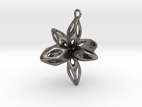 My funny  star in Polished Nickel Steel