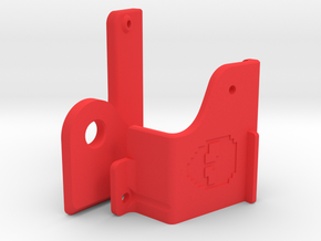 Keyboard Mounts for C64C case (universal) in Red Processed Versatile Plastic