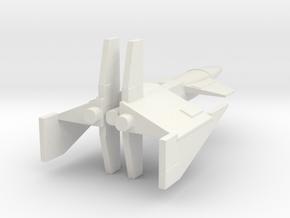 Morkanium TOG DD Full in White Natural Versatile Plastic