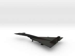 North American XB-70 Valkyrie in Black Natural Versatile Plastic: 1:600
