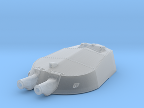 1/350 HMS Tiger Replacement A Turret x1 in Smooth Fine Detail Plastic