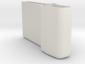 PO-case in White Natural Versatile Plastic