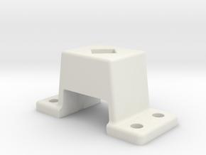 "Untere Signalstütze, Maßstab 1:11, Spur 5"" in White Natural Versatile Plastic"