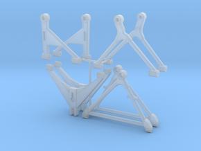 Triangles 205 T16 EVO2_ 1-24 V4 in Smooth Fine Detail Plastic
