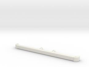 Front bumper sensors D90 D110 SCX10 TRC in White Natural Versatile Plastic