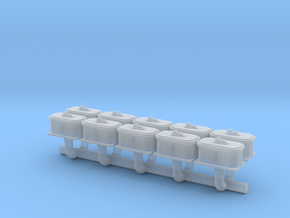 N Scale Switch Air Valve Box in Smoothest Fine Detail Plastic