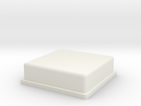 VENT-LENS 7x7 in White Natural Versatile Plastic