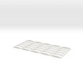20' Roll Over Tarp Frame in White Natural Versatile Plastic