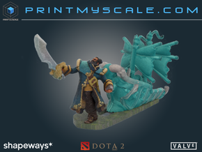 Dota 2 Kunkka Ghostship in Full Color Sandstone