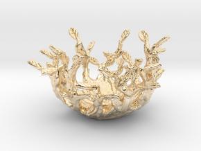 Beauty Nest in 14K Yellow Gold