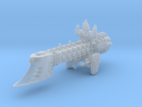 Doubtless Light Cruiser v2 in Smooth Fine Detail Plastic