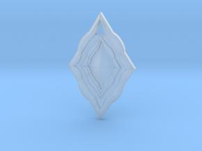 Diamond Pendant in Smooth Fine Detail Plastic