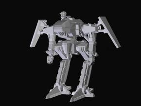mecha,robot,future, futuristic, miniature, Sci-Fi, in White Natural Versatile Plastic