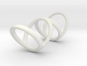 Ring for Bob L1 1 L2 1 D1 3 1-2 D2 4 1-2 D3 5 1-2 in White Premium Strong & Flexible