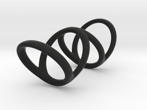 Ring for Bob L1 1 L2 1 D1 3 1-2 D2 5 D3 6 in Black Premium Strong & Flexible