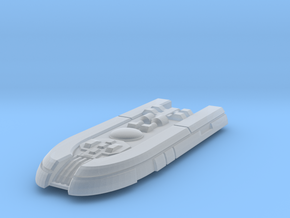 Colony Transport in Smooth Fine Detail Plastic