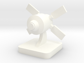 Mini Space Program, ATV spacecraft in White Processed Versatile Plastic