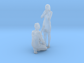 Printle C Couple 055 - 1/87 - wob in Smooth Fine Detail Plastic
