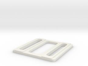 DBL SPACING TOOL in White Natural Versatile Plastic: 1:87 - HO