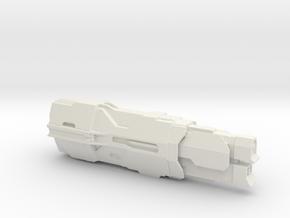 UNSC Cruiser Valiant in White Natural Versatile Plastic