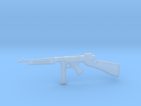 Thompson M1928 30rds (1:18 Scale) in Smooth Fine Detail Plastic: 1:18
