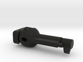 6mm locker - 21mm - Nylon  in Black Premium Versatile Plastic
