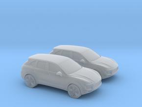 1/220 Porsche Cayenne in Smooth Fine Detail Plastic