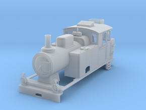 0m K23 loco Adopted in Smooth Fine Detail Plastic: 1:45