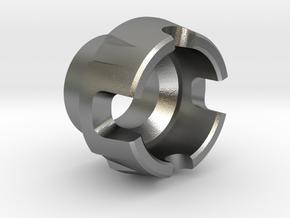 Custom CC Crystal Energy Port V2 in Natural Silver