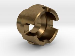 Custom CC Crystal Energy Port V2 in Natural Bronze
