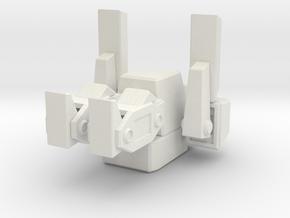 Total Annihilation Arm Peewee in White Premium Versatile Plastic