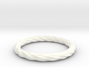 Valley Series Bracelet 69mm in White Processed Versatile Plastic