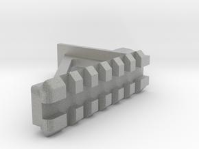 [Airsoft] AA12 Sight Mount in Metallic Plastic