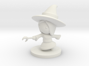 Witch in White Premium Versatile Plastic