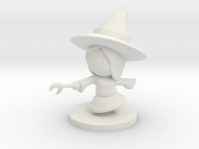 Witch in White Premium Versatile Plastic