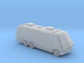 N Scale 1975 Big Ambulance in Smooth Fine Detail Plastic