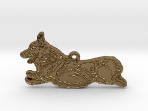 Joyful Running (detailed) in Polished Bronze